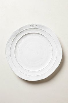 Glenna Dinnerware #anthropologie I love the rustic, hand-thrown look to this dinnerware. #Anthropologie and #PinToWin