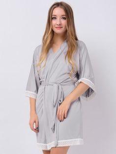 Gray Jersey Stretchy Kimono Robes Cute Robes Bridesmaid Gifts Bridesmaid Robes Wedding Gifts Inexpensive Modal Bridesmaid Robes, Inexpensive Gift, Wedding Gifts, Gray, Fashion, Wedding Day Gifts, Moda, Fashion Styles, Bride Maid Dresses
