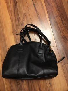 Fossil Jori Satchel in Black Pebbled Leather with Adjustable Crossbody  Strap. Fiyahwurkz Empire Inc · Designer Women Bags 4aa52043676f5