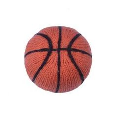 Estella Basketball Rattle - Organic/Fair-Trade Toy =- For the little NBA all-star in your life, this organic cotton basketball rattle is a must have! Hand-made by artisans in Peru, this soft toy will engage and entertain baby with its plush feel, vibrant orange color, and delightful sounds.