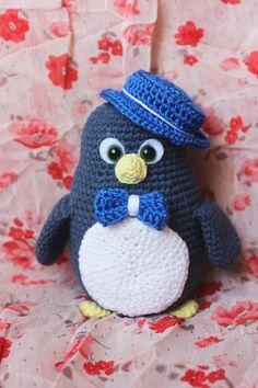 uncinetto pinguino giocattoli fatti a mano del bambino doccia regalo  peluche pinguino giocattolo uncinetto amigurumi c77528782b8b