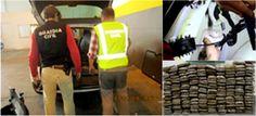 La Guardia Civil de Granada descubre hachís en un doble fondo practicado en el maletero de un vehículo en el puerto de Motril