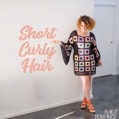 Tips for styling short curly hair