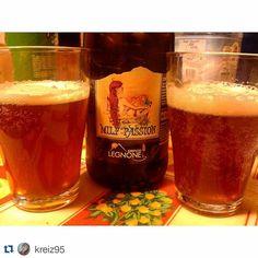LEGNONISTI OVUNQUE! Thx@kreiz95 #beer #milfpassion #birrificiolegnone #craftbeer  #birraartigianale #valtellina