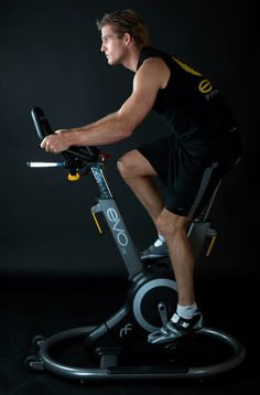 """The Evo Fitness Bike - The Evo Fitness Bike """"ix"""" changes the dynamic of home workouts by providing owners with an attractive show piece that looks as good in the living room as it does in the gym. Evo's """"Active Sway Frame"""" allows a 10-degree sway to either side to enhance the workout by engaging the user's..."""
