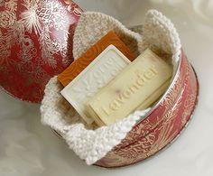 Soap Gift Basket / Organic and Vegan / Organic Cotton cloth / Three Natural Soaps