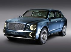 Bentley will launch the world's most expensive and powerful SUV in 2016