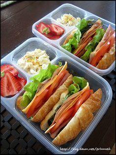 30분이면 충분한 햄 샌드위치 도시락~~^^* – 레시피 | Daum 요리