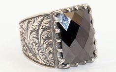 925 Sterling Silver Totally Handmade Filigree by lunasilvershop