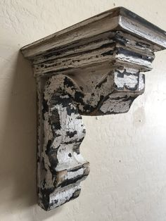 Antique style Corbel Wooden Corbel French by LynxCreekDesigns