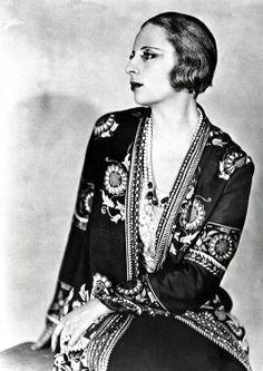 Tamara de Lempicka : icône de garçonne sensuelle / flapper girl
