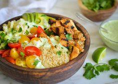 chicken quinoa bowl-11-