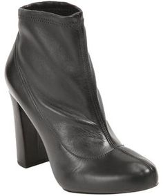 Chlo Boot Bootie Ankle Black Boots