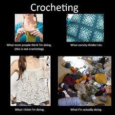 Resultado de imagem para humor crochet