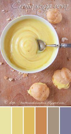 "Crema ""pasticcera""....senza uova!"