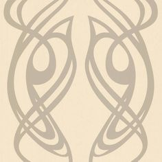 Designed by Barbara Hulanicki. Classic art nouveau style, with curves in all the right places! 'Diva' is one of famous designer Barbara Hulanicki's classic wall