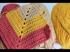 How to crochet a blanket ~ Free Patterns