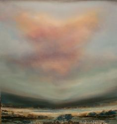 Henrie Haldane. Gorgeous, ethereal, abstract landscapes.