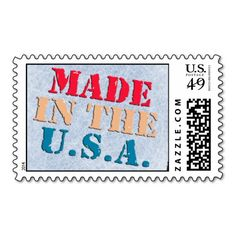 MADE IN AMERICA STAMP $10 OFF FOR A SHEET OF POSTAGE TODAY!!!!---- USE CODE:  ZWEEKOFDEALS