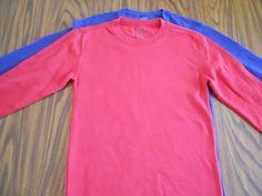 Footlocker Kids Boys (Lot of 2) Thermal Long Sleeve Shirts Size M 8 -10   #FootLockerKids
