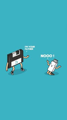Floppy disk and Pendrive