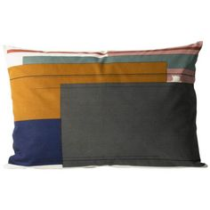 Decorative cushions give a new look for your sofa, lounge chair or bed. Choose decorative cushions to match with your sofa set or play with contrasting colours, textures and materials. Modern Throw Pillows, Color Blocking, Colour Block, Scandinavian Living, Nordic Design, Decorative Cushions, Danish Design, Interior Styling, Branding Design