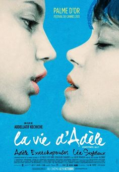 La Vide d'Adele Blue is the warmest colour.