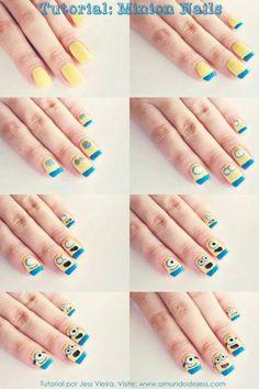 Uñas de minion