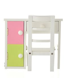Love this Doll Desk & Chair Set for 18'' Dolls on #zulily! #zulilyfinds