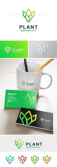 Plant - Farm Logo Template #design #logotype Download: http://graphicriver.net/item/plant-farm-logo/11913830?ref=ksioks