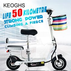 new model Mini Folding Electric Adult scooter For Men Women Female Small Car