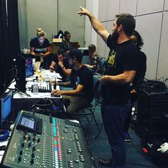#tyt #behindthescenes from #politicon prepping for #tytlive