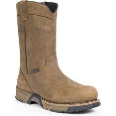 New boots Beau? Rocky Men's Steel Toe Waterproof Wellington Work Boots - Style #6639