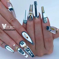 "Honey Phan on Instagram: ""Amazing work by @vincentnails  Come and learn with us in PA this coming November  #nails #artist #nailsofinstagram #bestnails #nails4today…"""