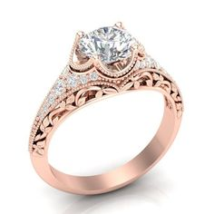 Fashion Silver Pink Sapphire Couronne Mariage Fiançailles Claddagh Ring Taille 6-10