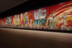 "An installation view of ""Takashi Murakami: The 500 Arhats,"" at Mori Art Museum in Tokyo in Credit: Mori Art Museum, Tokyo Takashi Murakami/Kaikai Kiki Co. All Rights Reserved. Murakami Artist, Takashi Murakami Art, Museum Of Modern Art, Art Museum, Goya Paintings, What Is Contemporary Art, Tokyo Museum, Francisco Goya, Spanish Artists"
