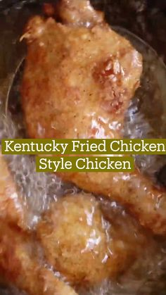 Kfc Chicken Recipe, Fried Chicken Recipes, Chicken Fried Chicken, Meat Recipes, Cooking Recipes, Comida Diy, Kentucky Fried, Good Food, Yummy Food
