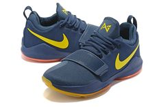 New Colorways Paul George Shoes PG 1 One Midnight Navy Metallic Gold  Gradient Orange
