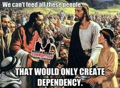 things Jesus never said!