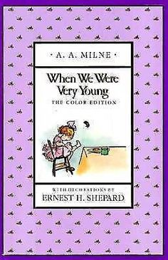 When We Were Very Young (Full-Color Gift Edition) By A. A. Milne 525449612 | eBay