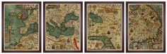 Medieval Map, All Kingdoms of the World https://www.battlemaps.us