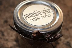 Make this pumpkin pie spice sugar scrub to give as a DIY Christmas gift or save it for pampering your own hands!