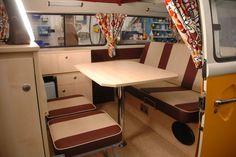 VW combi camper interior - Google Search