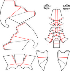 Elephant Mask Template Low Poly Dxf By Theshort