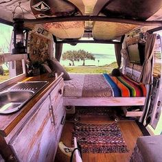 Breathtaking 35 DIY Camper Van Ideas That You Could Make It Yourself For Summer Holiday 2018 https://decoredo.com/17094-35-diy-camper-van-ideas-that-you-could-make-it-yourself-for-summer-holiday-2018/
