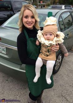 Starbucks Barista and Frappuccino - Halloween Costume Contest via @costume_works