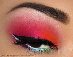 Set Fire To The Rain #promeyes #makeup