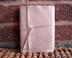 Leather Italian Long Stitch Bound Journal by FoldAndStitch on Etsy, $18.00