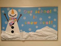 Our scool.is snow cool!