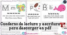 Cuaderno de lectura y escritura para descargar en pdf Words, Writing Activities, Learning To Write, Notebooks, Horses